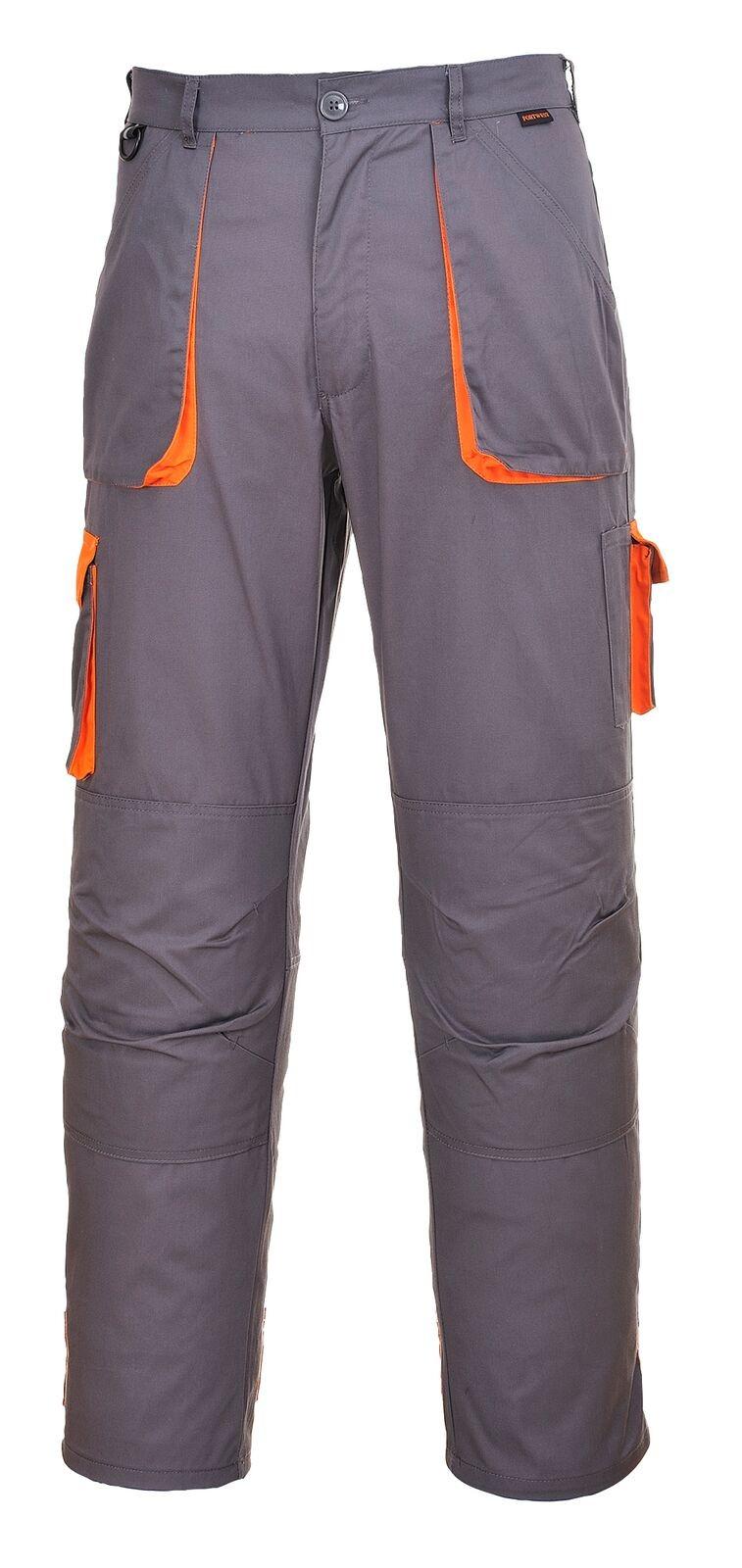 Παντελόνι Εργασίας PortWest TX11 Γκρι/Πορτοκαλί