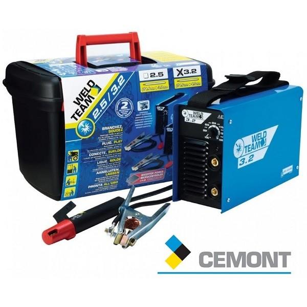 Ηλεκτροκόλληση Cemont Ηλεκτροδίου Inverter WeldTeam 3.2