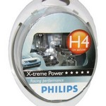 PHILIPS ΣΕΤ ΛΑΜΠΕΣ H4 EXTREME POWER