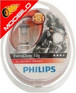 PHILIPS ΛΑΜΠΑ H7 12V MOTO ExtraDuty