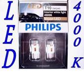 PHILIPS LED SET W5W 4000 KELVIN