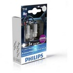 PHILIPS LED SET W5W BLUEVISION 6000K
