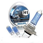 PHILIPS SET BLUE VISION ULTRA H1  W5W