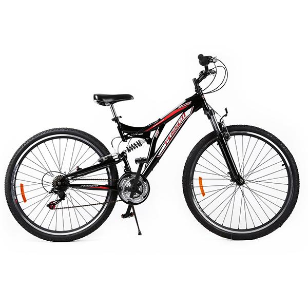 Ποδήλατο BLOG 29 - FULL SUSPENSION Μαύρο