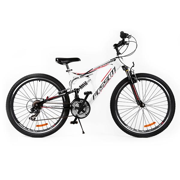 """Ποδήλατο STORM 26"""" FULL SUSPENSION με δισκόφρενα Λευκό"""