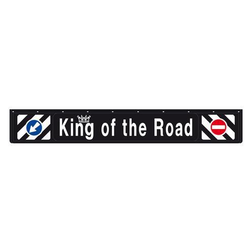 ΛΑΣΠΩΤΗΡΑΣ ΦΟΡΤΗΓΟΥ 3D KING OF THE ROAD ΜΑΥΡΟΣ 240x35cm ΜΕ ΕΝΔΕΙΞΗ ΠΡΟΣΠΕΡΑΣΗΣ 1ΤΕΜ.