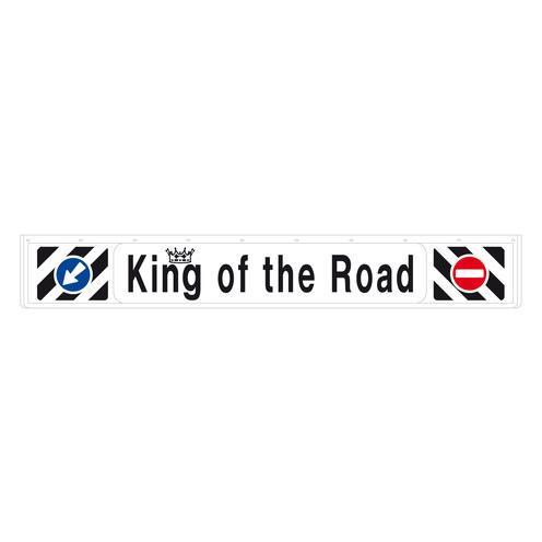 ΛΑΣΠΩΤΗΡΑΣ ΦΟΡΤΗΓΟΥ 3D KING OF THE ROAD ΛΕΥΚΟΣ 240x35cm ΜΕ ΕΝΔΕΙΞΗ ΠΡΟΣΠΕΡΑΣΗΣ 1ΤΕΜ.