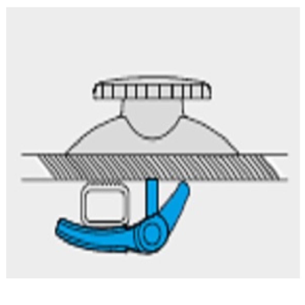 ΔΙΕΘΝΕΣ ΣΥΣΤΗΜΑ ΔΕΣΗΣ (FITTING SYSTEM) DIAMOND ΜΠΑΓΚΑΖΙΕΡΩΝ ΟΡΟΦΗΣ ΣΕ ΜΠΑΡΕΣ - MENABO