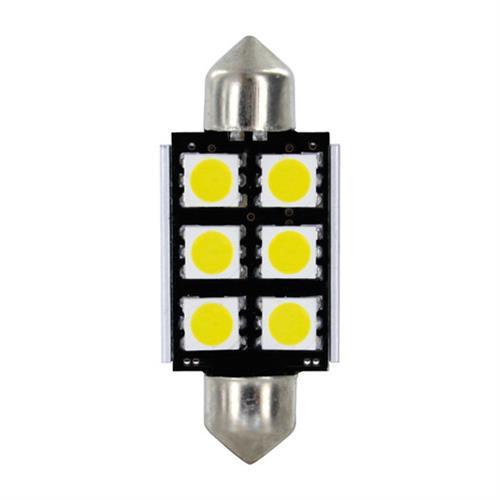 Λαμπάκια Πλαφονιέρας 24-30V SV8,5-8 15x39mm 108lm HYPER-LED18 (Διπλής Πολικότητας) BLISTER 2τεμ