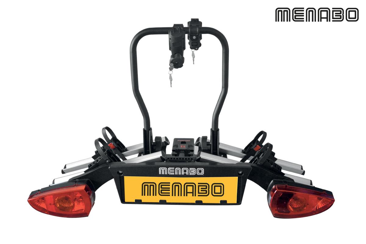 Βάση Ποδηλάτου Κοτσαδόρου MENABO ALTAIR για 2 ή 3 ποδήλατα και φώτα {Αλουμίνιο και Χάλυβας}