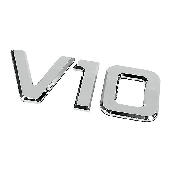 ΑΥΤΟΚΟΛΛΗΤΟ ΜΕΤΑΛΛΙΚΟ 3D ΣΗΜΑ V10