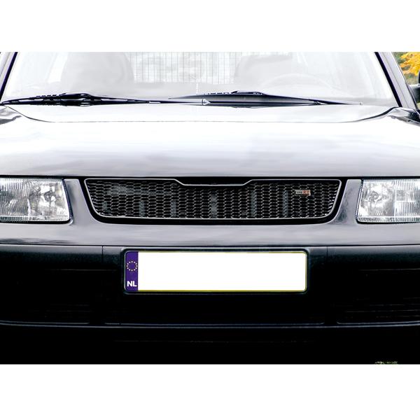 ΜΑΣΚΑ ΚΕΝΤΡΙΚΗ ΜΕΤΑΛΛΙΚΗ ΜΑΥΡΗ VW PASSAT 9/96-10/00