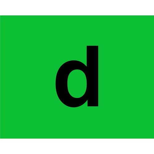 ΑΥΤΟΚΟΛΛΗΤΗ ΠΡΑΣΙΝΗ ΣΗΜΑΝΣΗ D PVC