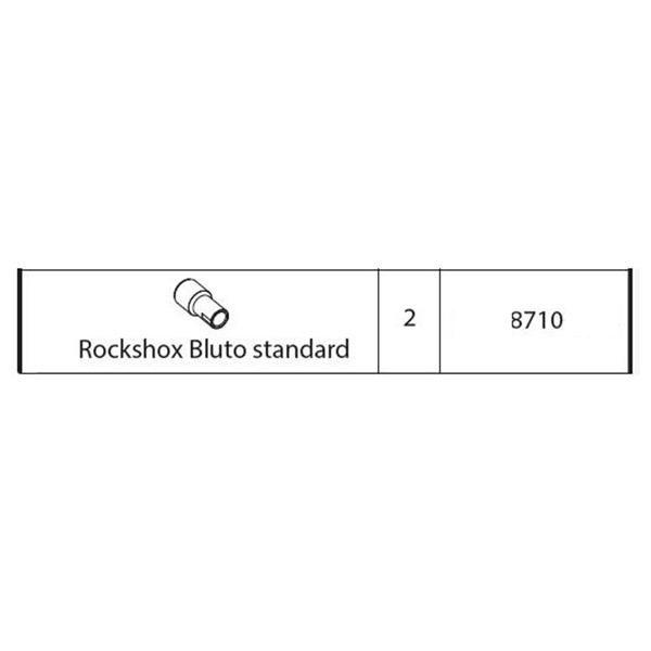 ΑΠΟΣΤΑΤΗΣ ΨΑΛΙΔΙΟΥ ROCKSHOX BLUTO STANDARD ΓΙΑ ΒΑΣΗ ΠΟΔΗΛΑΤΟΥ ΟΡΟΦΗΣ ΑΛΟΥΜΙΝΙΟΥ PRO TOUR (8610/MB)