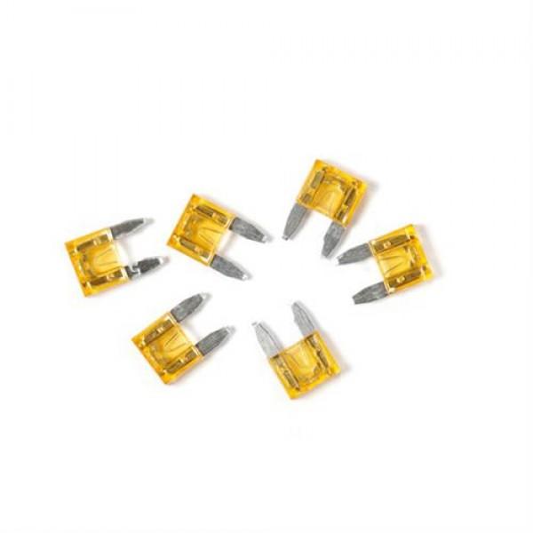Ασφάλειες Mίνι 10A 12/24V SMART-LED 6τεμ.