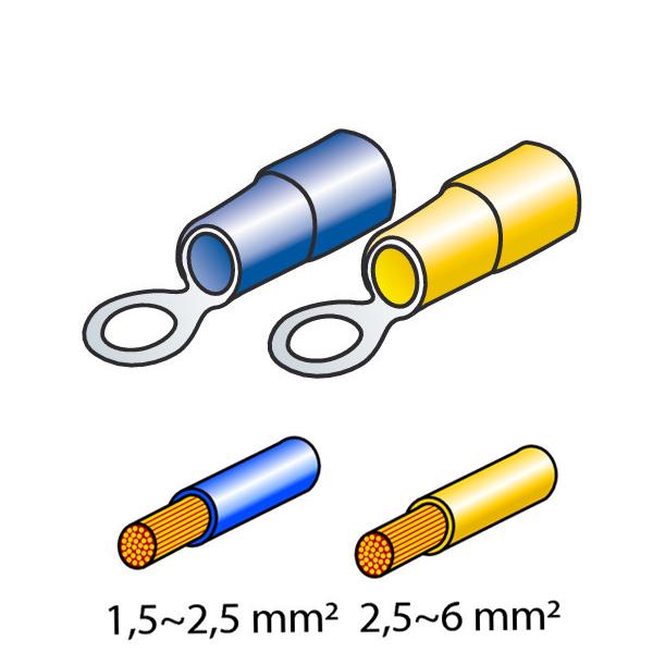 ΦΙΣΑΚΙΑ 5+6mm (40τμχ.)