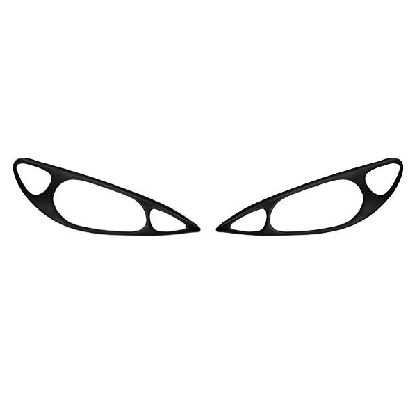 Φρυδάκια Φαναριών Μάσκα Εμπρός PEUGEOT 206