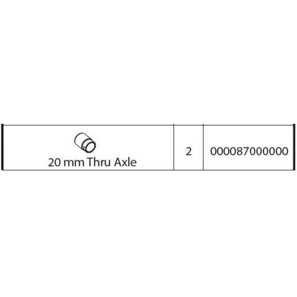 ΠΟΣΤΑΤΗΣ ΨΑΛΙΔΙΟΥ 20mm ΓΙΑ ΒΑΣΗ ΠΟΔΗΛΑΤΟΥ ΟΡΟΦΗΣ ΑΛΟΥΜΙΝΙΟΥ PRO TOUR (8610/MB)