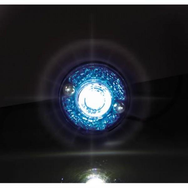 Φώτα Όγκου Φορτηγού 24V 1 Led 2τεμ Μπλε B-1 3