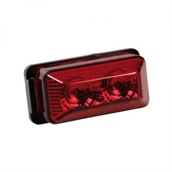 Φως Φορτηγού 24V 2LED 70x35mm Κόκκινο