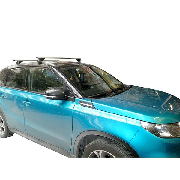 Kit Μπάρες Αλουμινίου NORDRIVE με Πόδια για Suzuki Vitara 5d 2015+