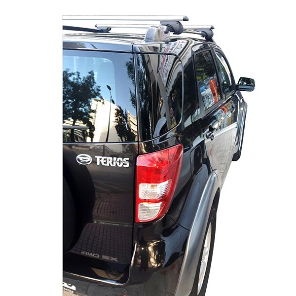 Kit Μπάρες Αλουμινίου - Πόδια για Daihatsu Terios 2006-2013