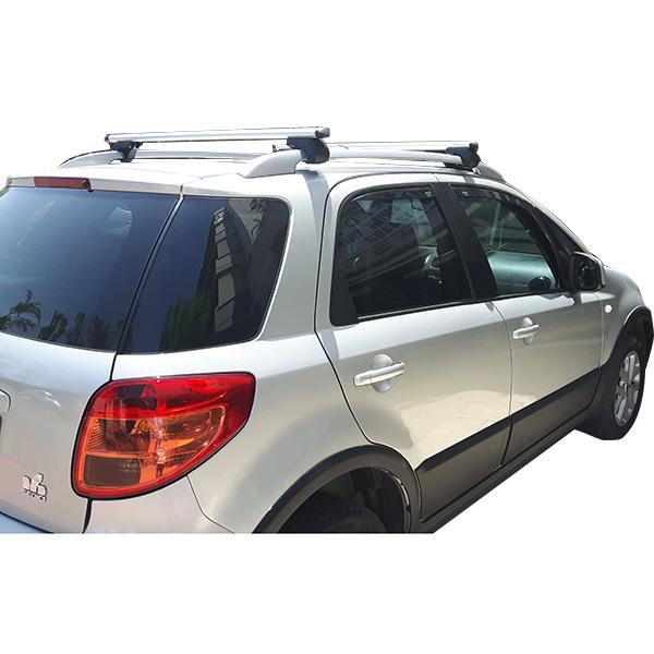 Kit Μπάρες Αλουμινίου - Πόδια για Fiat Sedici 2006-2015