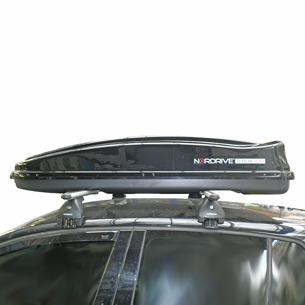 Kit Μπάρες - Πόδια - Μπαγκαζιέρα Nordrive D-Box 430lt για VW Golf 5 GTI