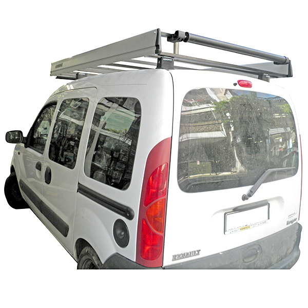 Kit Πόδια - Σχάρα Οροφής - Ανεμοθραύστης - Roller για Renault Kangoo 8/97-1/08