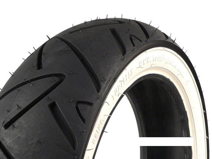 ΕΛΑΣΤΙΚΌ CONTINENTAL Twist με Άσπρη Ρίγα - 130/70 - 12 TL 62P
