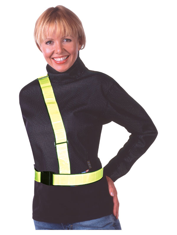 Oxford Reflective H-Belt Yellow  Ιμάντες Αντανακλαστικά