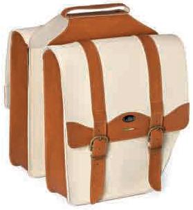 Τσάντα Σχάρας Monte Grappa Κρεμ-Καφέ