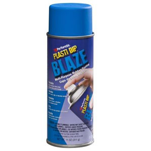plasti dip spray σε χρωμα Blaze blue