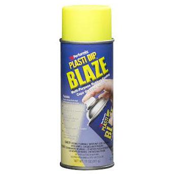 plasti dip spray σε χρωμα Blaze yellow