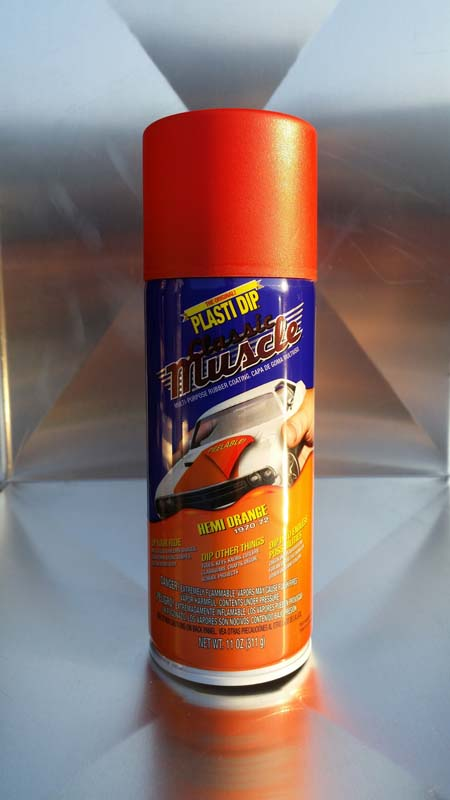 Plasti dip spray σε χρωμα Hemi Orange