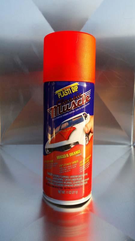 Plasti dip spray σε χρωμα Hugger Οrange