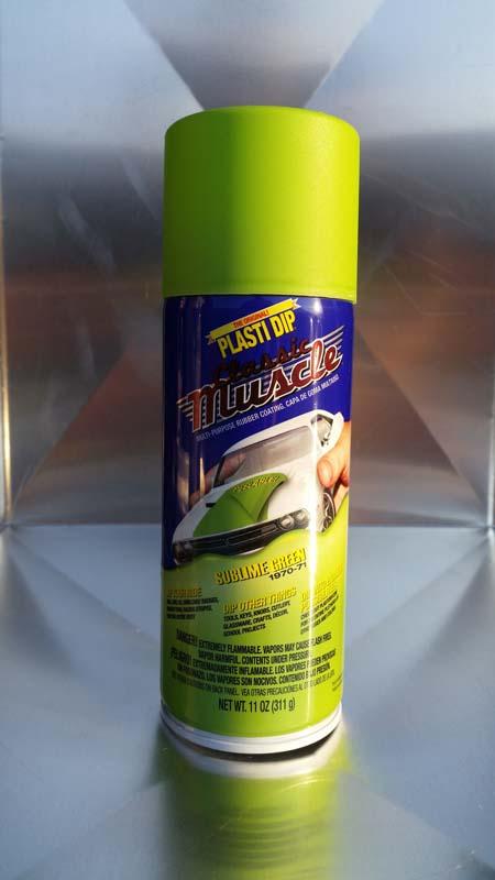 Plasti dip spray σε χρωμα Sublime Green