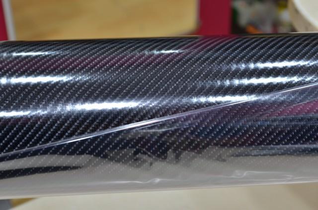 Carbon NEW 5D ΜΑΥΡΟ 100x152cm Bubble Free 583 2