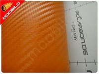 Carbon Πορτοκαλί 100x152cm Bubble Free 510