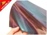 Μεμβράνη Αυτοκόλλητο Flip Flop Χαμαιλέων Γυαλιστερό Μωβ 50x152cm Bubble Free