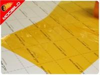 Μεμβράνες για Φανάρια Πορτοκαλί 100x30cm 008