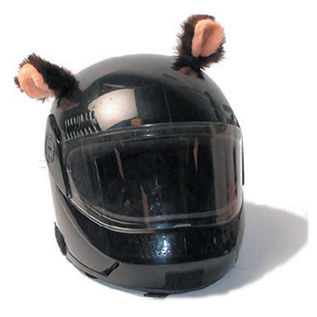 Αυτάκια αυτοκόλλητα για κράνη Helmet Ears TM-010 Bear