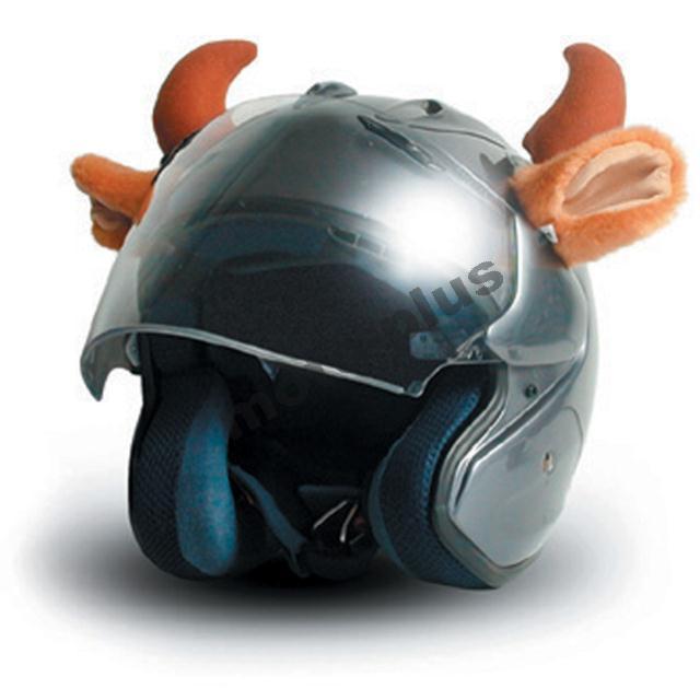 Αυτάκια αυτοκόλλητα για κράνη Helmet Ears TM-070 Cow Horns
