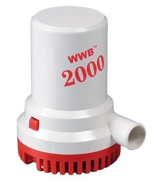ΑΝΤΛΙΑ ΣΕΝΤΙΝΑΣ WWB 2000 126lt/min 12V