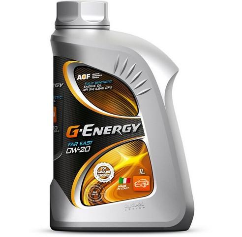 ΛΑΔΙΑ G-ENERGY FAR EAST 0W-20  1 ΛΙΤΡΟ