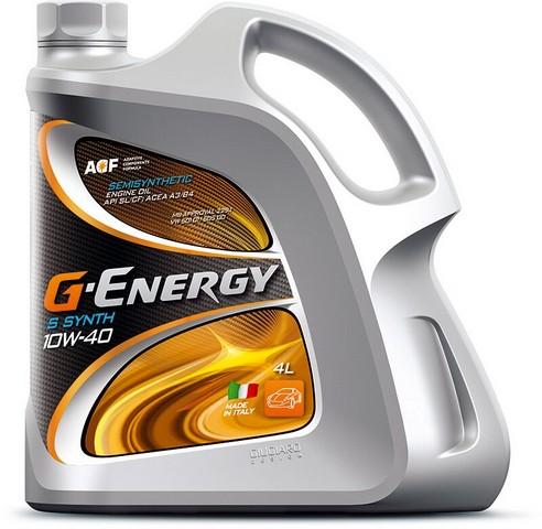 ΛΑΔΙΑ G-ENERGY S SYNTH 10W-40 4 ΛΙΤΡΑ