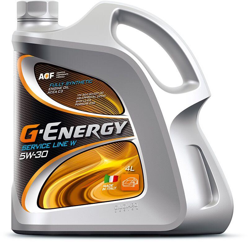 ΛΑΔΙΑ G-ENERGY SERVICE LINE W 5W-30  4 ΛΙΤΡΑ