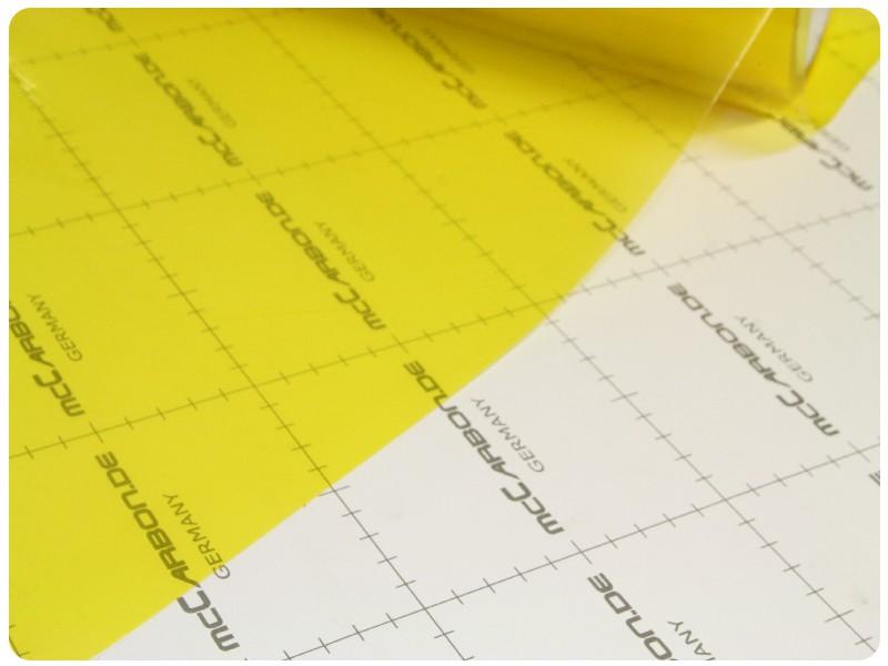Μεμβράνες για Φανάρια Κίτρινο 100x30cm 005