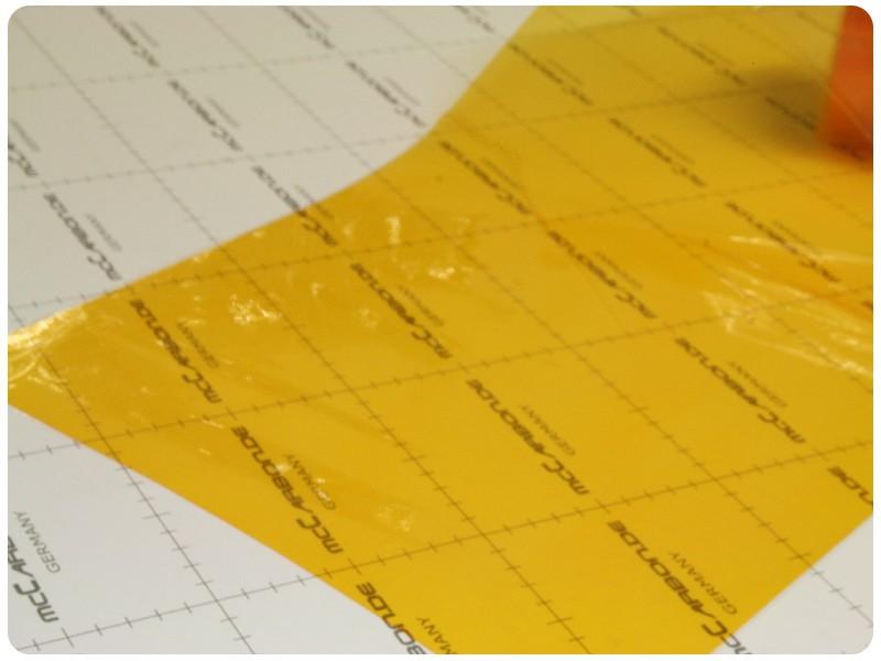 Μεμβράνες για Φανάρια Πορτοκαλί 1000x30cm 108