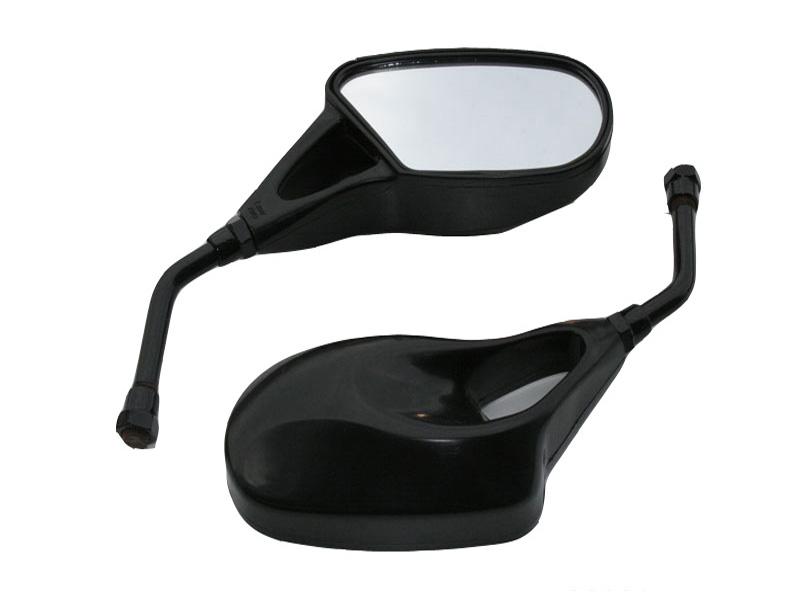 Καθρέπτες Τιμονιού 906 Μαυρο Για Μοτοσυκλετα Scooter ATV